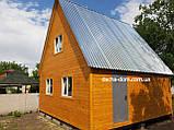 Двоповерхові дачні будиночки-економ варіант, фото 2