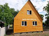 Двоповерхові дачні будиночки-економ варіант, фото 3