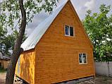 Двоповерхові дачні будиночки-економ варіант, фото 4