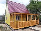 Двоповерхові дачні будиночки-економ варіант, фото 6