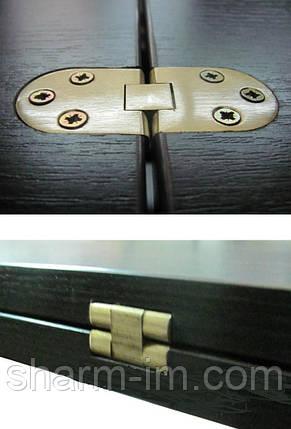 Петля для раскладных столов 180 градусов 30х80 мм, фото 2