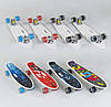 Пенни борд 70822 Best Board, 6 видов, колёса PU светящиеся