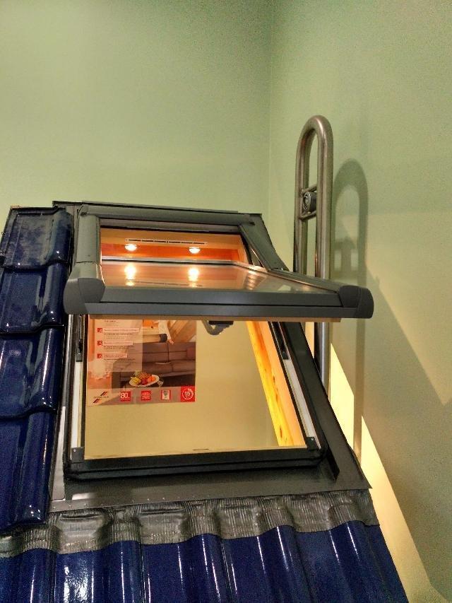 Вікно мансардне Designo зі шторкою акційне WDF R75 H N AL 09/14