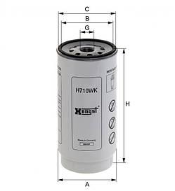 Паливний фільтр Hengst H710WK