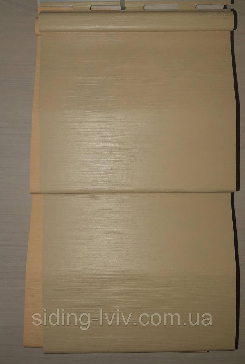 Сайдинг Вокс Vox пісочний 3,85 м*0,25 см вініловий