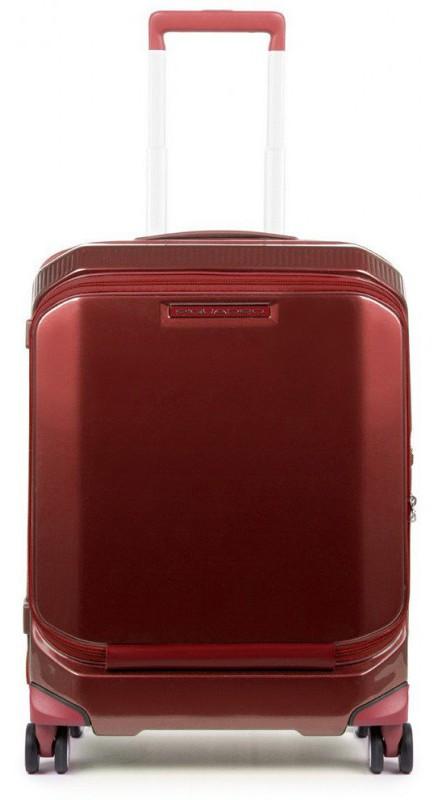 Чемодан малый Piquadro BV4736CB_R, красный, 39л