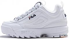 Мужские кроссовки Fila Disruptor II White 1010262 1FG, Фила Дизраптор
