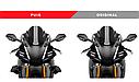 Дефлектори боковые PUIG к мотоциклу Yamaha R1 15-18, фото 3