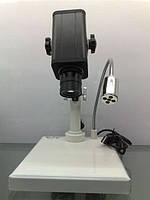 Видео-микроскоп Ya Xun AK15, с 10/20-тикратным увеличением, камера 1Мп, штатив, led-подсветка, USB-шнур к ПК