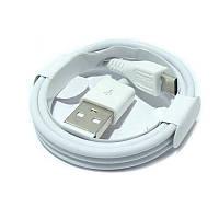 USB кабель Ivon CA-15 microUSB white