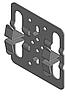 Кляймер центральный 4-х лепестковый 1,2 мм под 12 мм плитку