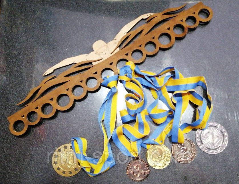 Медальница (держатель медалей) Плавание