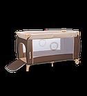 Кроватка туристическая Lionelo Sven Plus Brown-Beige, фото 5