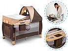 Кроватка туристическая Lionelo Sven Plus Brown-Beige, фото 7