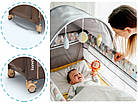 Кроватка туристическая Lionelo Sven Plus Brown-Beige, фото 9