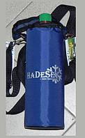 Термосумка на 0,5 - 1 литра синяя