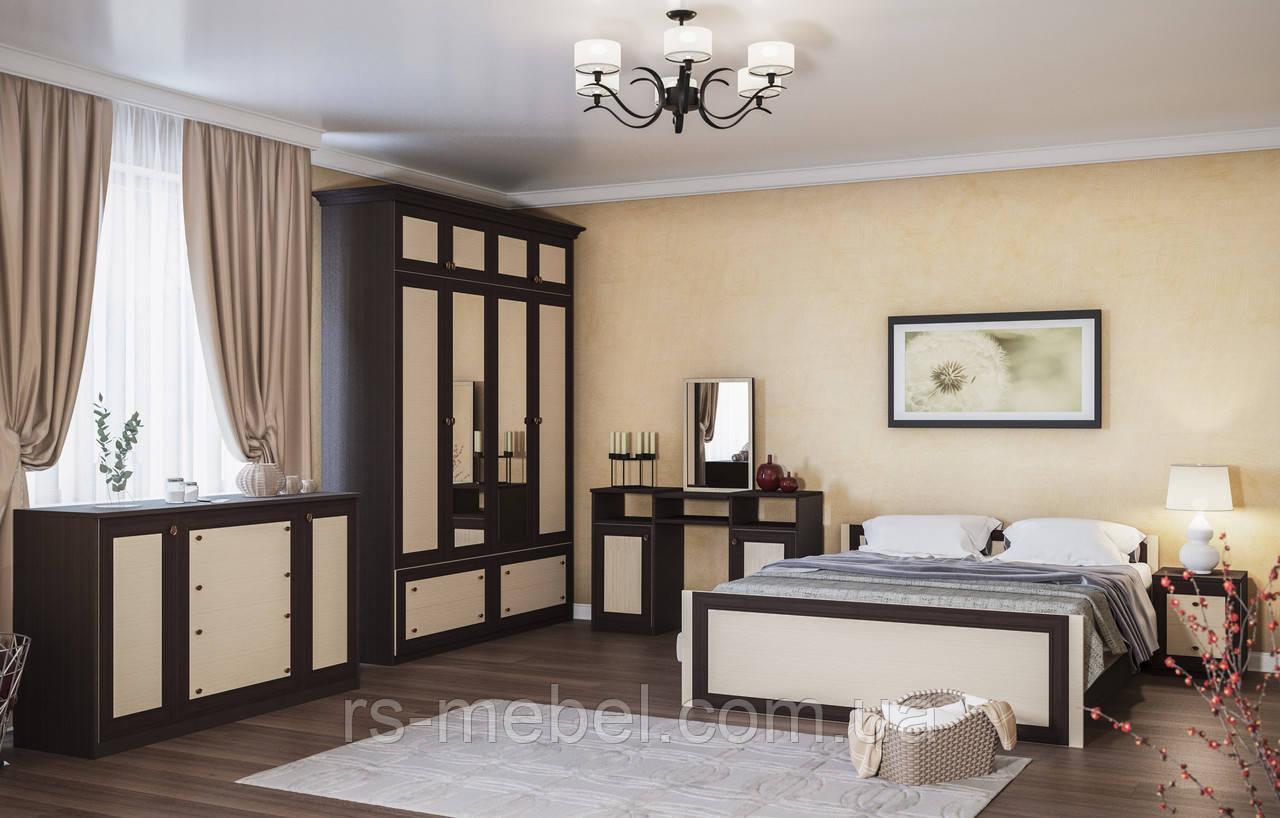 """Модульна спальня """"Лотос-венге"""" (Світ Меблів)"""
