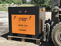 Новый винтовой компрессор 1,2м3/мин 7 бар, по цене бу