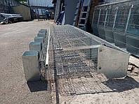 Промислова клітка для кролів б/у.