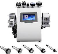 Косметологический Аппарат 6 в 1: лазерный липолиз, кавитация, вакуум, радиолифтинг