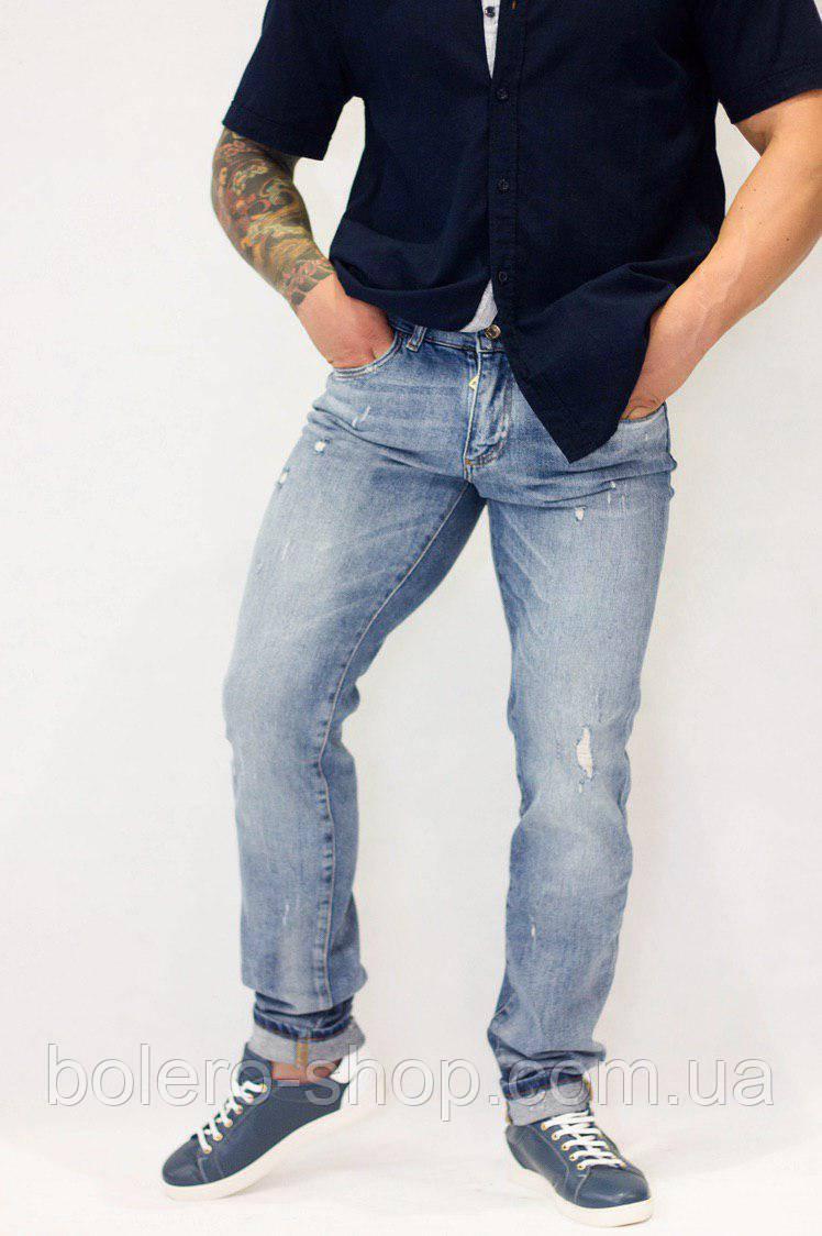 Джинсы мужские Dolce&Gabbana  светло-голубые