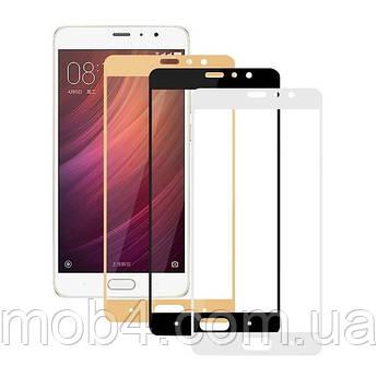 Защитное стекло для Xiaomi (Ксиоми) Mi A1 / 5X (чёрное, белое, золотистое)