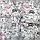 Бязевая тонкая пелёнка (польская бязь) 90х80 см детская для пеленания новорожденного в роддом 4062 Серый, фото 3