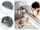 Ліжечко туристичне Lionelo Sven Plus Grey, фото 9