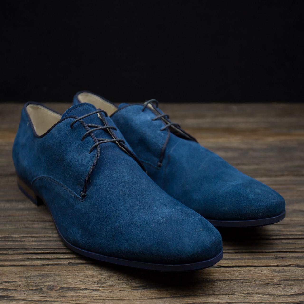 Мужские туфли натуральная замша San Marina р-44