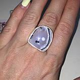 Дендритовый опал красивое кольцо с дендро-опалом в серебре 18 размер Индия, фото 2