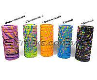 Роллер (валик, ролик) массажный Grid Roller 33х14 см  для массажа тела, спины, триггерных точек