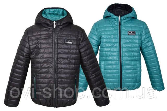 двухсторонняя детская куртка