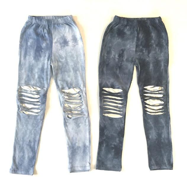 Лосины рванка под джинс на возраст 9-12 лет