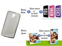 Чехол(бампер) для Samsung n7505 galaxy note 3 neo с рисунком(печать на чехле)
