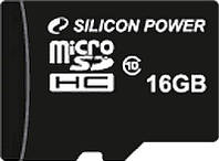 Карта памяти SILICON POWER microSDHC16 GB