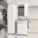 Пенал підлоговий Aqua Rodos Родорс 40 з кошиком для білизни, фото 7