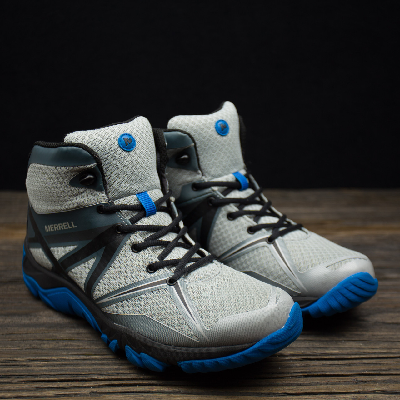 Кроссовки ботинки треккинговые Merrell Grey р-43 стелька 27 см