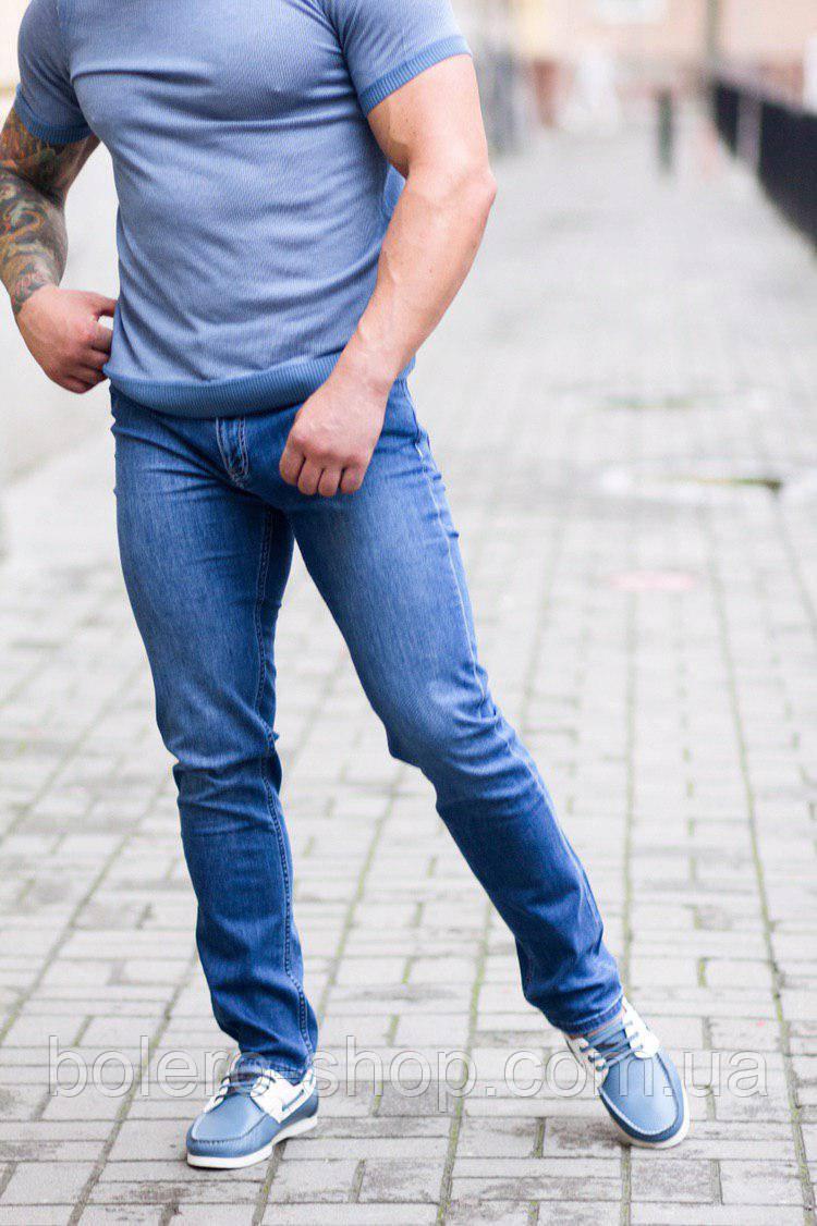 Джинсы мужские Armani голубые