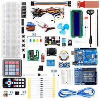 Super Starter Kit for Arduino UNO R3 с кейсом. Ардуино кит робототехника