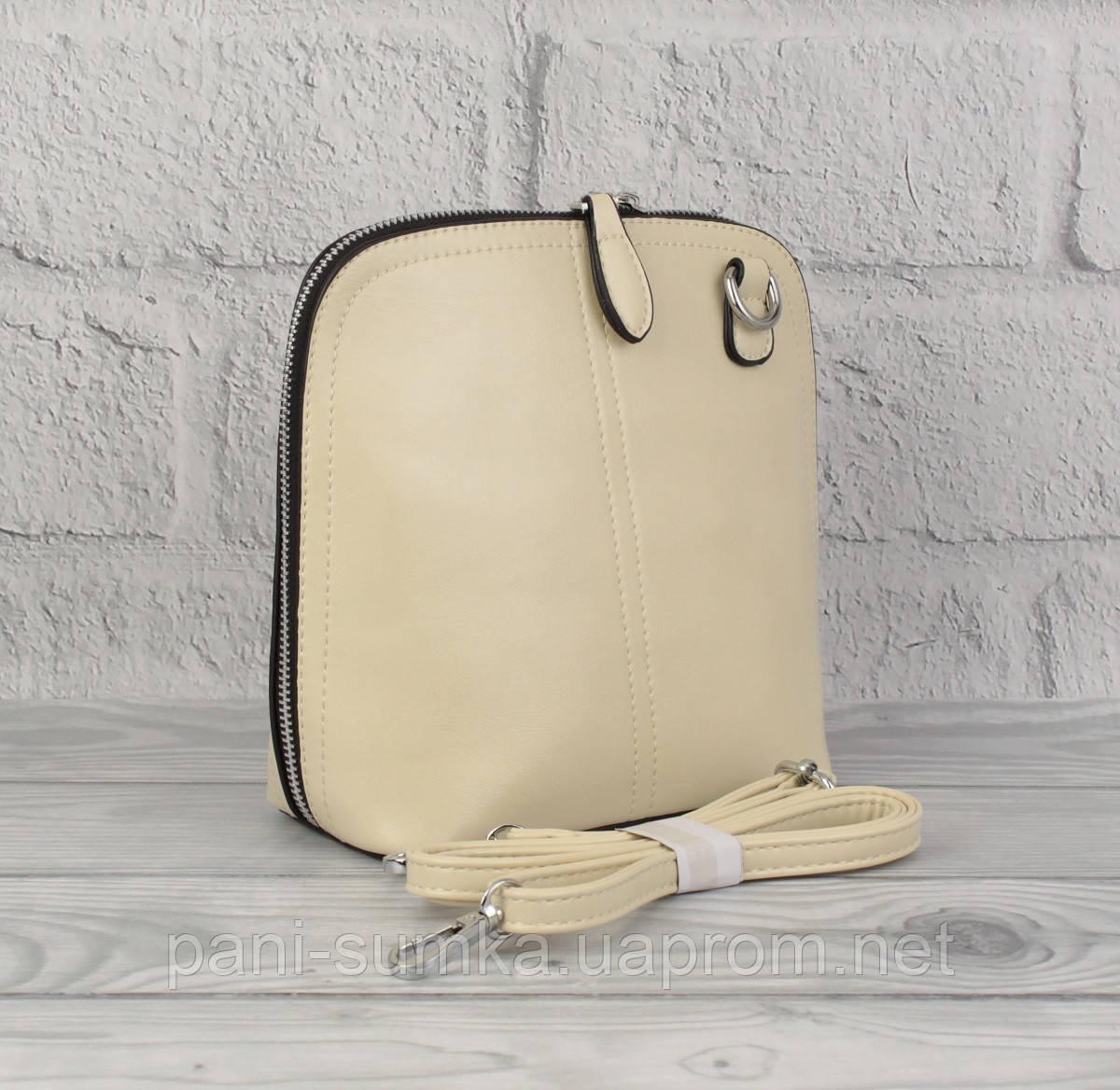 Клатч, сумочка через плечо Bl. Balli 1127-67 светло-бежевая