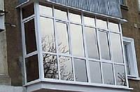 Монтаж металлопластиковых балконов полноростовых в Кропивницком