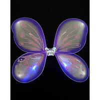 Крылья Бабочки светящиеся (сиреневые)