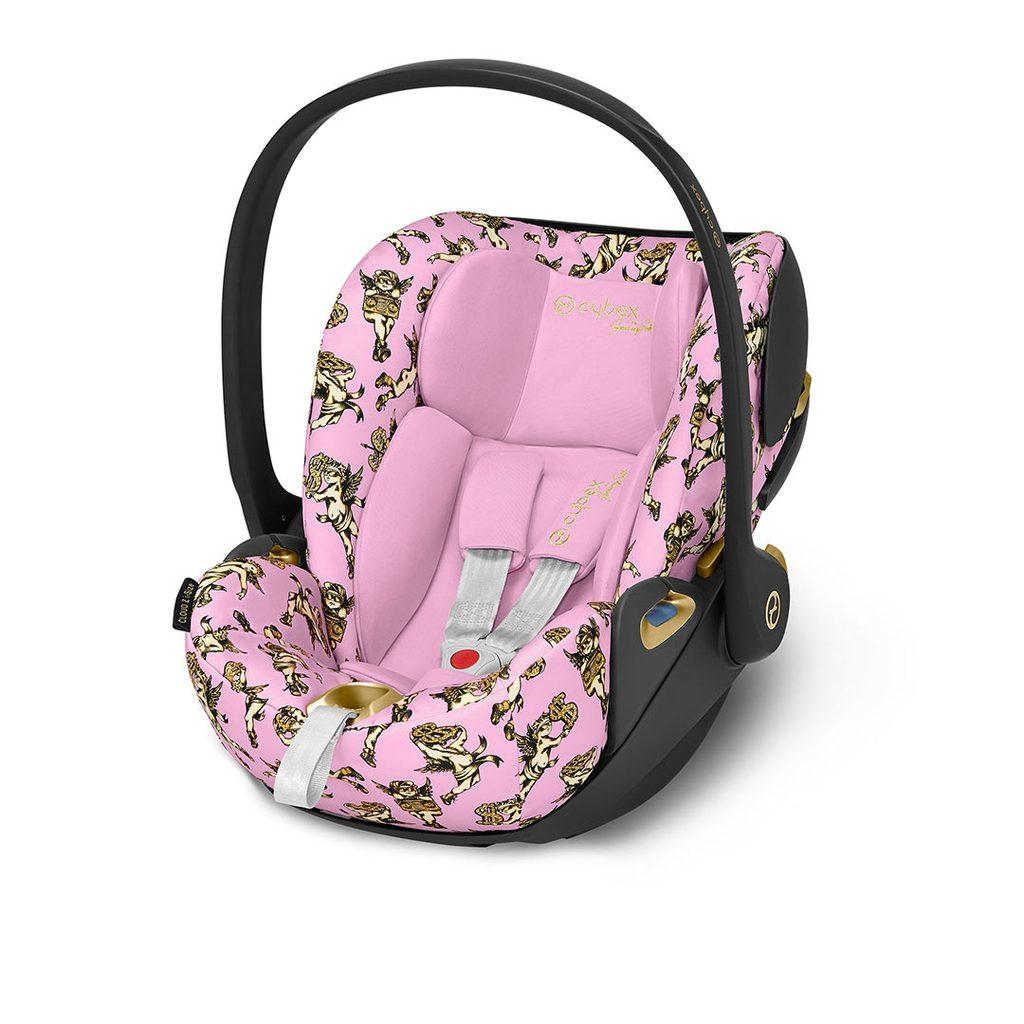 Автокресло Cybex Cloud Z i-Size by Jeremy Skott Pink