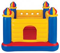 Батут детский надувной «Замок» Intex, 48259
