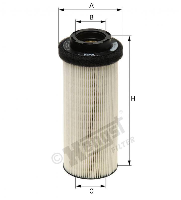 Вкладиш паливного фільтра Hengst E82KP D36