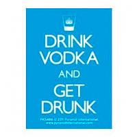 """Брелок """"Drink Vodka And Get Drunk"""""""