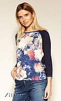 Блуза Haruko Zaps темно-синего цвета. Коллекция осень-зима 2019-2020