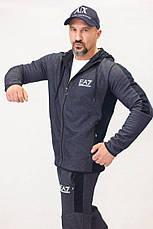 Спортивный костюм Armani ЕА7 темно-серый, фото 3