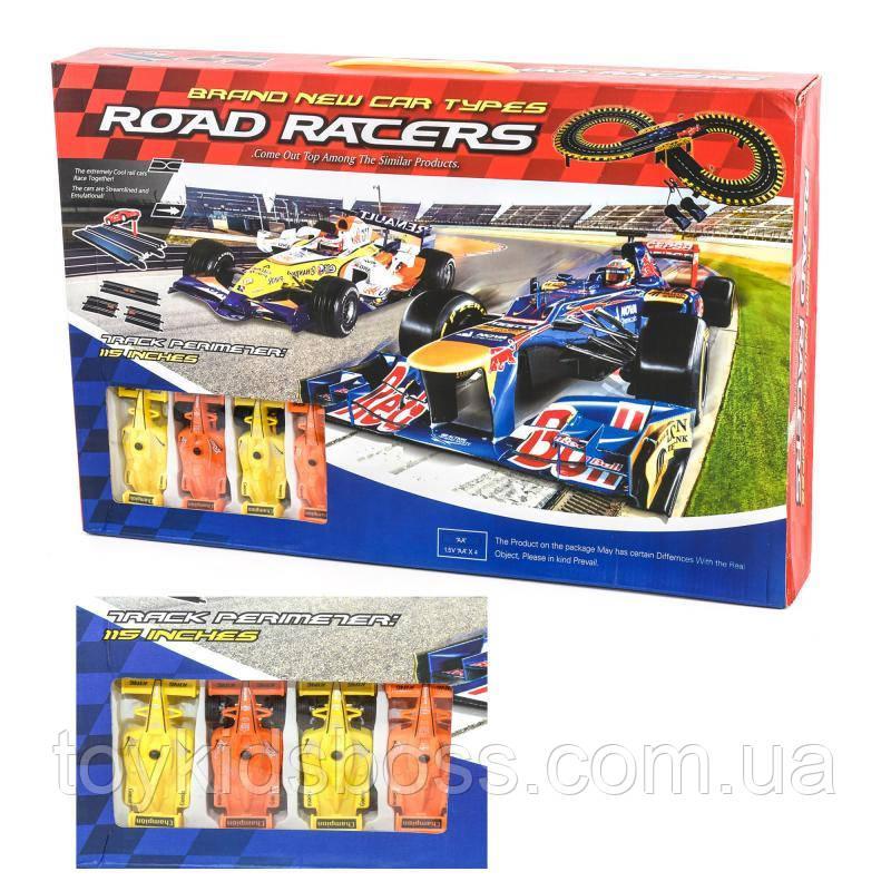 "Трек ""High speed rail car set"" Road Racers"