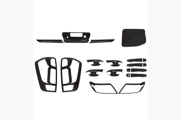 Комплект накладок (черный ABS) Nissan Navara NP300 2016↗